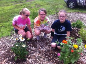 In 2013, we collaborated with local Girl Scouts to install a Butterfly Garden at the farm.