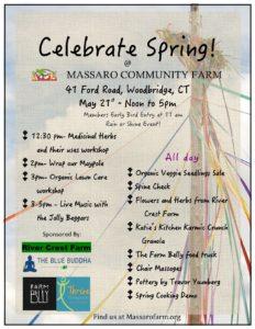 Celebrate Spring! @ Massaro Community Farm | Woodbridge | Connecticut | United States