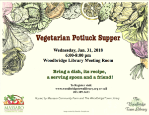 Vegetarian Potluck Supper @ Woodbridge Town Library | Woodbridge | Connecticut | United States