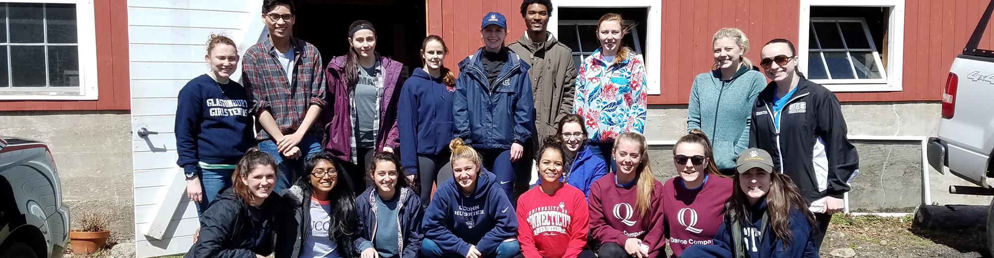 Massaro Farm volunteers