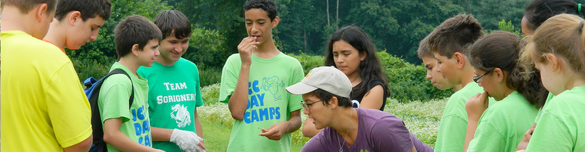 Summer camp at Massaro farm