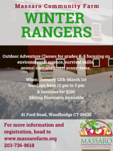 Winter Rangers Program @ Massaro Community Farm