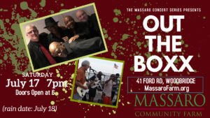 Massaro Concert Series- Out the Boxx
